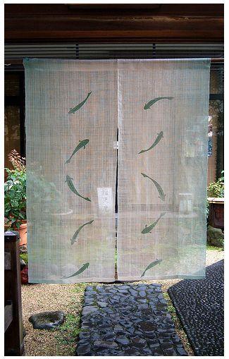 Curtain Space Dividers | Rideau Japonais, Store Japonais concernant Rideau Japonais Design