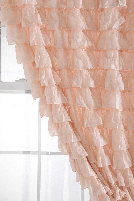 Curtains For Ryans Room | Ruffle Curtains, Urban encequiconcerne Rideaux Shabby Chic