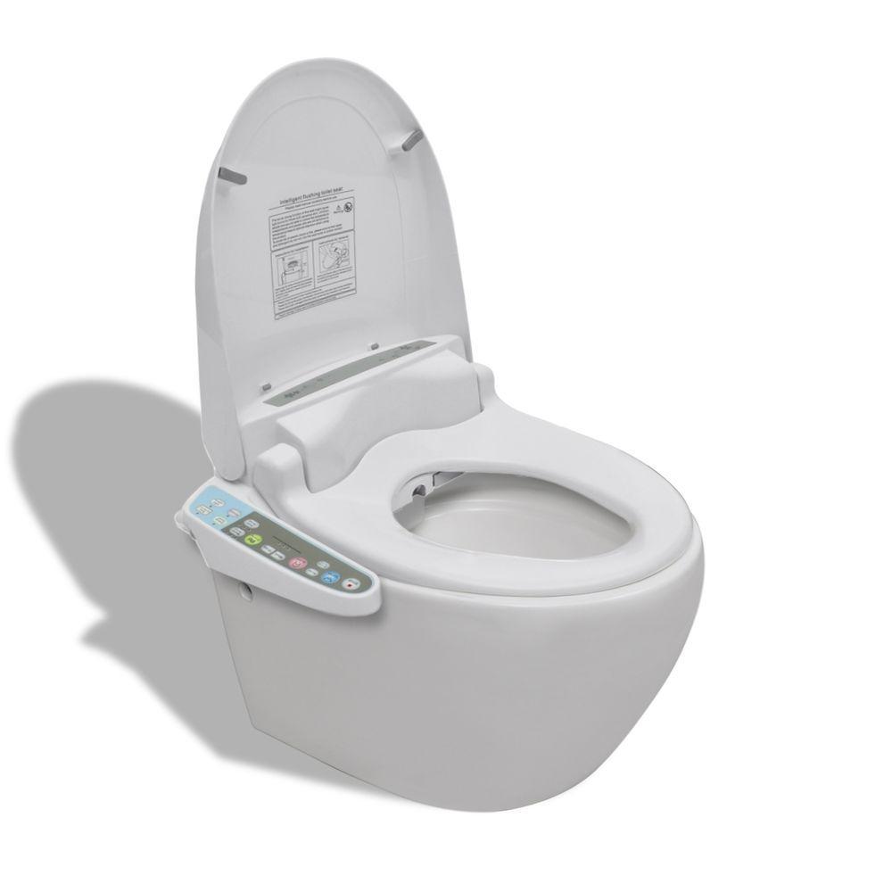 Cuvette Suspendue Abattant Japonais Électronique Toilette intérieur Toilettes Japonais