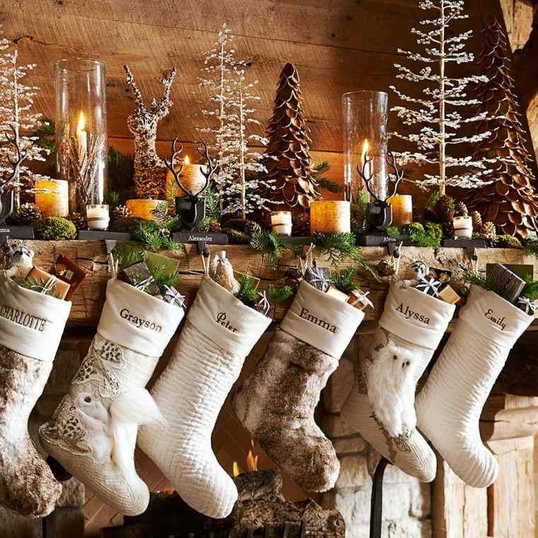 Déco Cheminée De Noël Moderne Et Chaleureuse - Transformez tout Cheminée De Noel