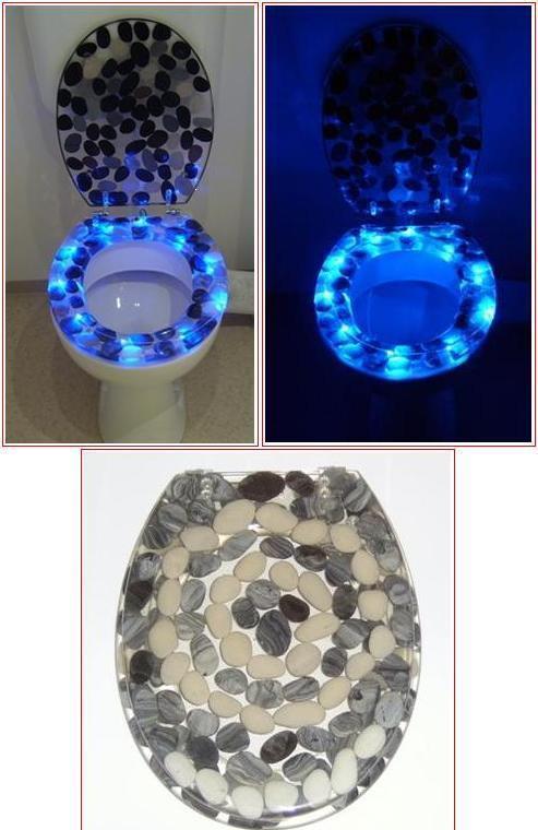Déco Cuvette Wc intérieur Lunette De Toilette Originale