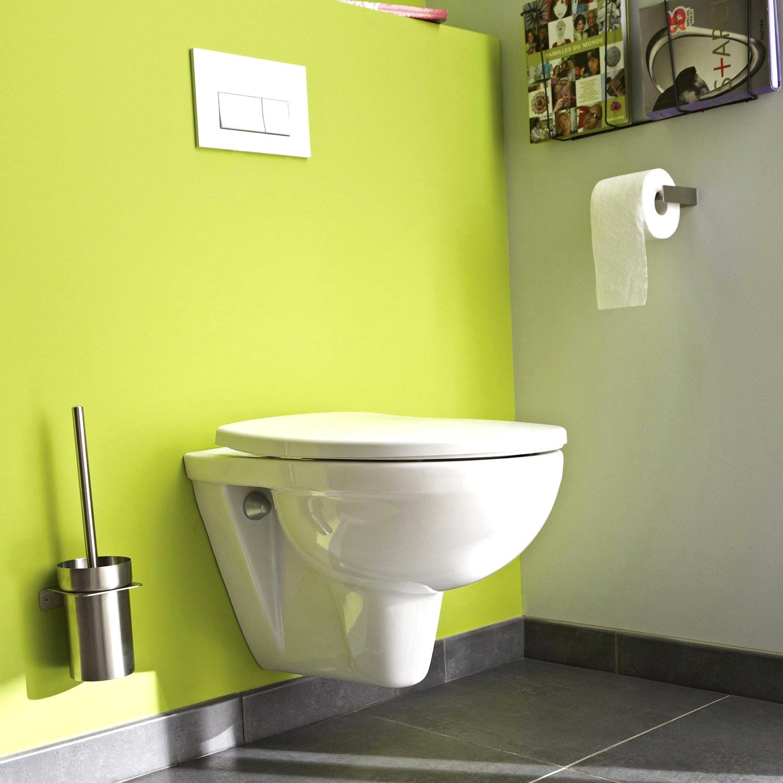 Deco Toilette Noir Et Blanc Ides Avec Deco Toilette Noir à Toilette Noir Suspendu
