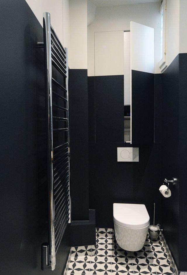 Déco Toilettes : Avant Après De Pro Pour Refaire Ses Wc encequiconcerne Placard Pour Toilette