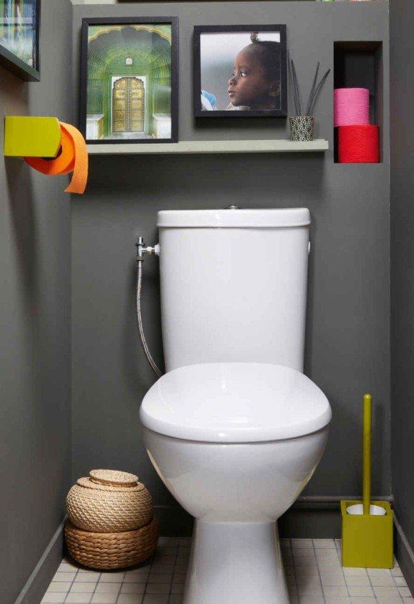 Déco Wc Leroy Merlin - Exemples D'Aménagements dedans Toilettes Leroy Merlin