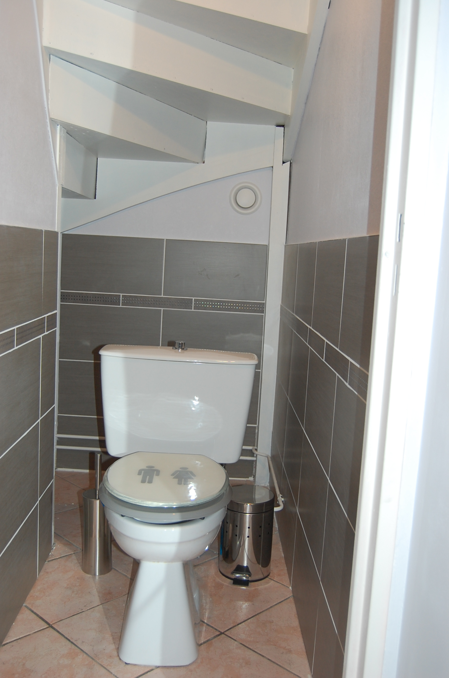 Décoration Wc Sous Escalier pour Placard Pour Toilette