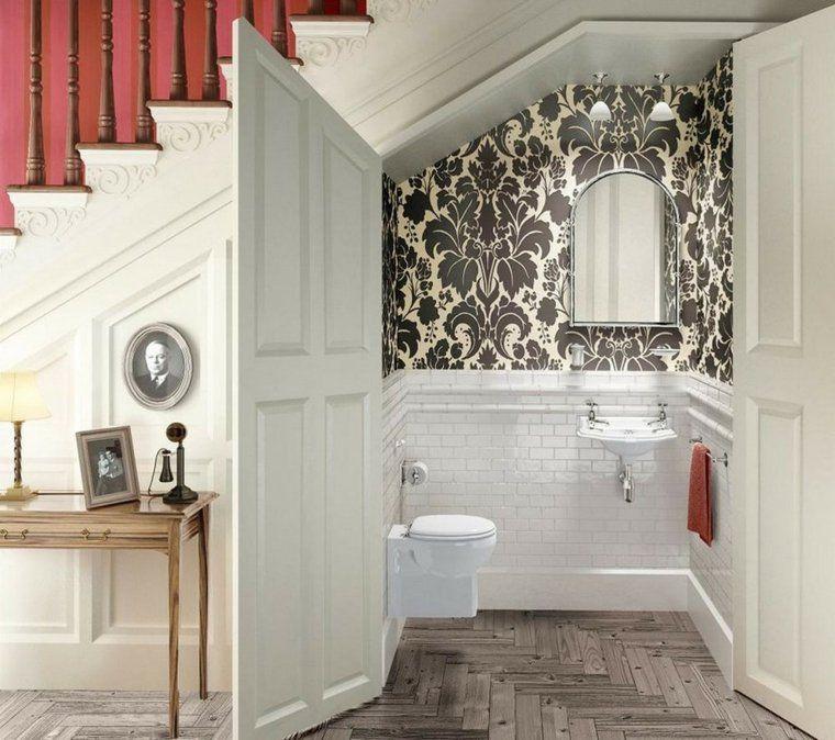 Décoration Wc Toilette : 50 Idées Originales   Koupelnový à Placard Toilette