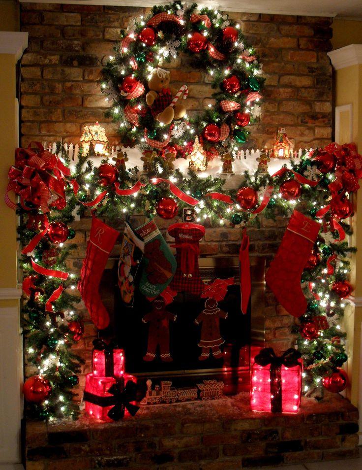 Décorer La Cheminée Pour Noel! Voici 20 Idées Pour Vous avec Cheminée De Noel