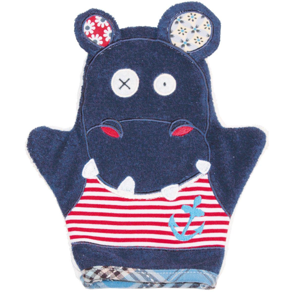 Déglingos De Babycalin Gant De Toilette Marionnette intérieur Gant Toilette Enfant