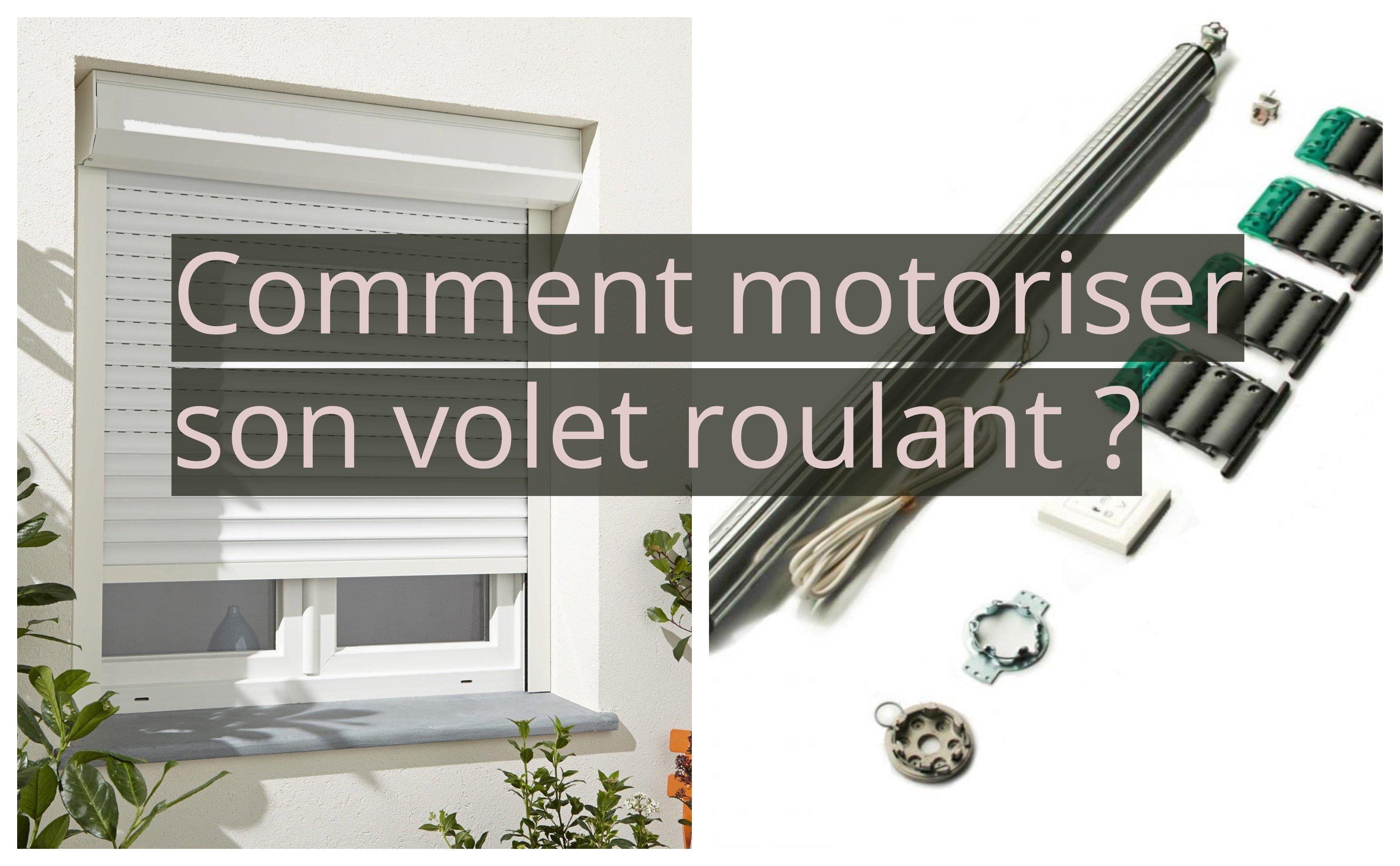 Descendre Volet Roulant Electrique Manuellement intérieur Rideau Electrique Bloqué