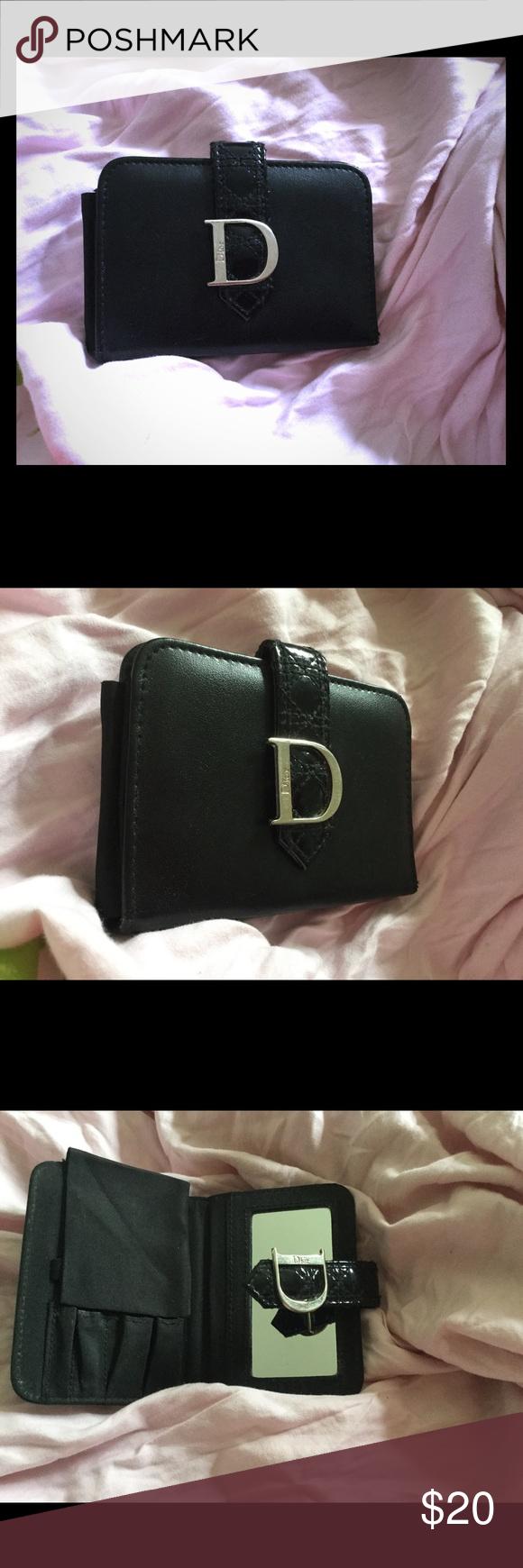 Dior Trousse De Toilette Mirror Wallet 100% Authentic Dior destiné Trousse De Toilette Dior