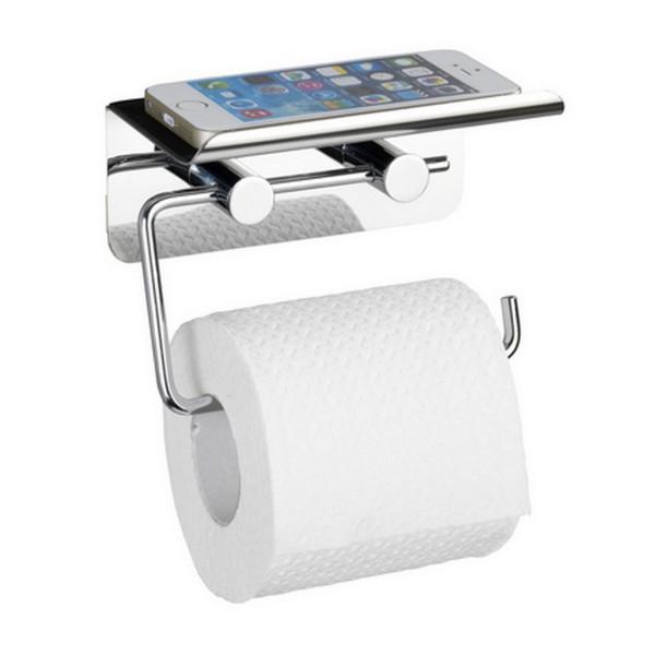 Distributeur Papier Toilette - Support Téléphone concernant Porte Papier Toilette Original