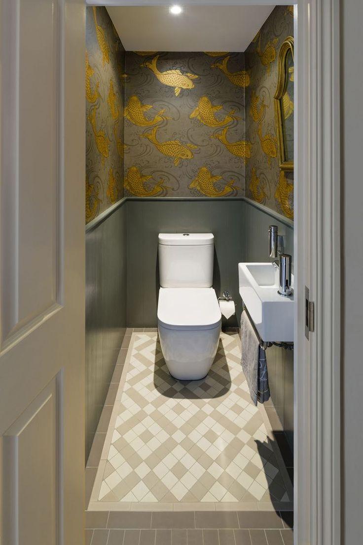 #Downstairsloo   Déco Toilettes, Petite Salle De Toilette avec Toilette Sous Escalier