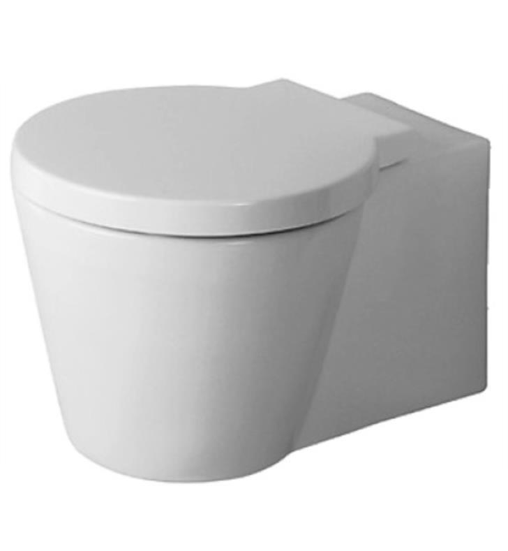 Duravit 02100900921 Starck 1 Dual Flush One-Piece Wall dedans Toilette Starck