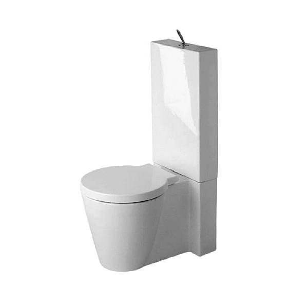 Duravit Starck 1 Close-Coupled Toilet | Toilets | From C.p tout Toilette Starck