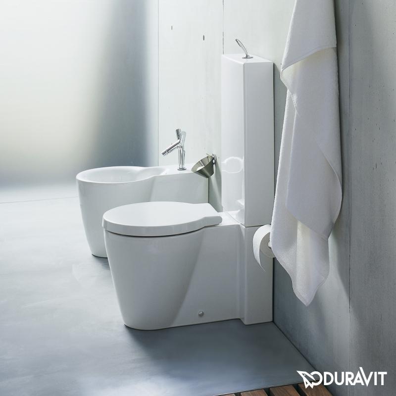 Duravit Starck 1 Floorstanding, Close-Coupled, Washdown encequiconcerne Toilette Starck