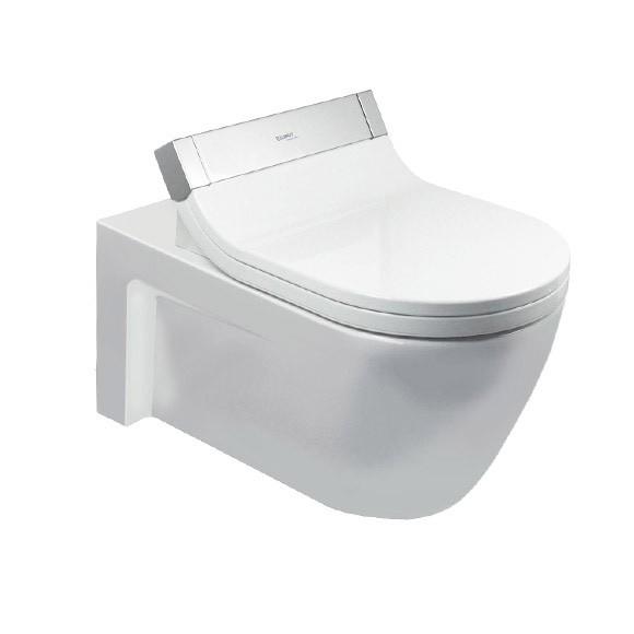 Duravit Starck 2 Wall-Mounted, Washdown Toilet Sensowash tout Toilette Starck
