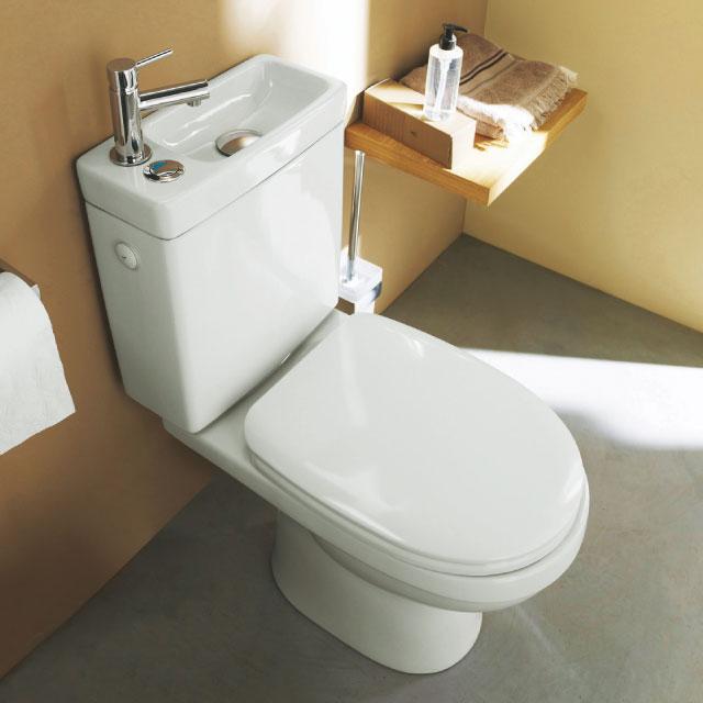 Économiques Et Écologiques, Ces Toilettes Ont Un Lavabo intérieur Toilette Sortie Verticale