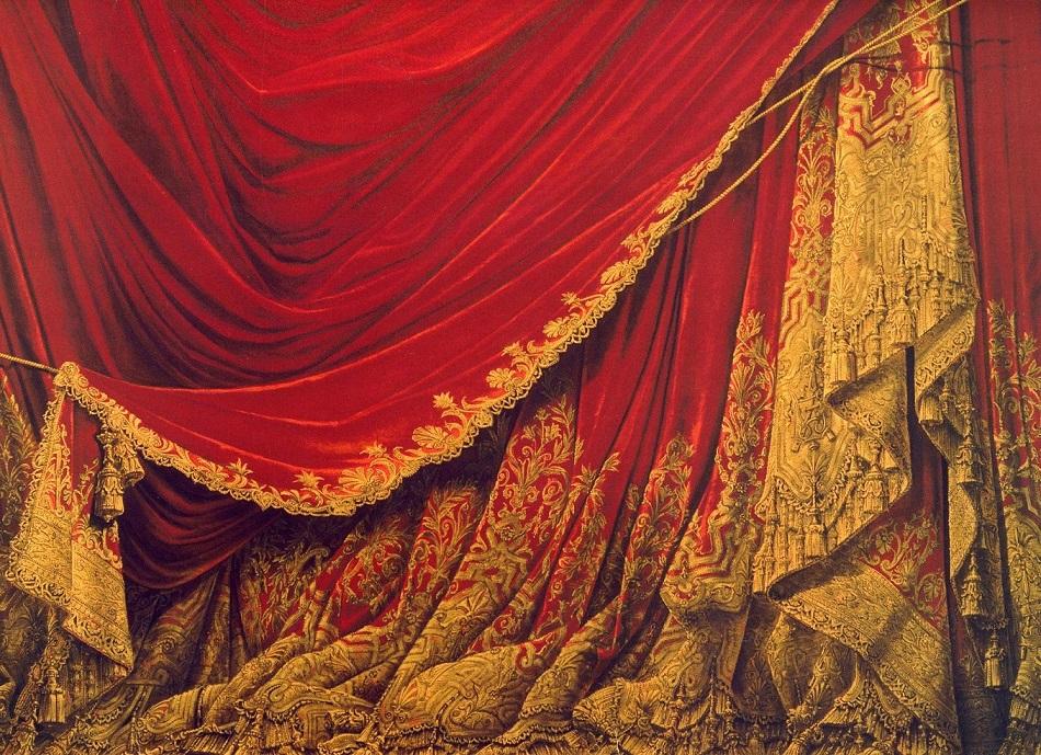 Electro-Gn Preview – Prima, La Musica ! Ou L'opéra Terrible intérieur Rideau De Scène Noir