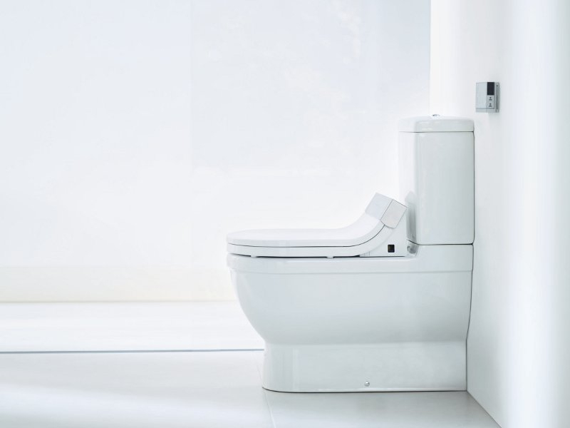 Electronic Toilet Seat Sensowash® Starck C By Duravit dedans Toilette Starck