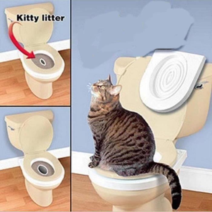 Entraînement Au Petit Pot Litière À Sable Toilette-Pour destiné Toilettes Pour Chat