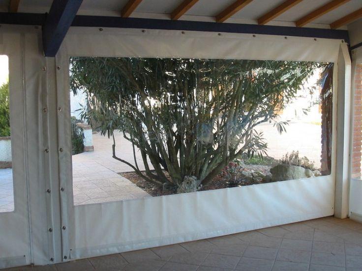 Épinglé Sur Jardin tout Rideau Plastique Transparent Pour Terrasse