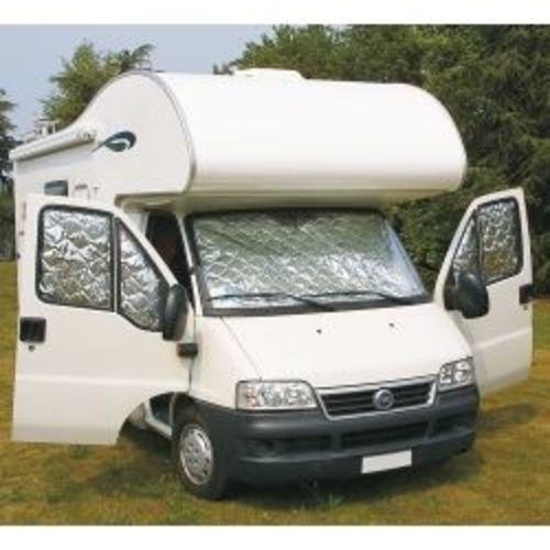 Equipement Camping-Car: Accessoires D'Isolation De Cabine destiné Rideau Isotherme Exterieur Camping Car