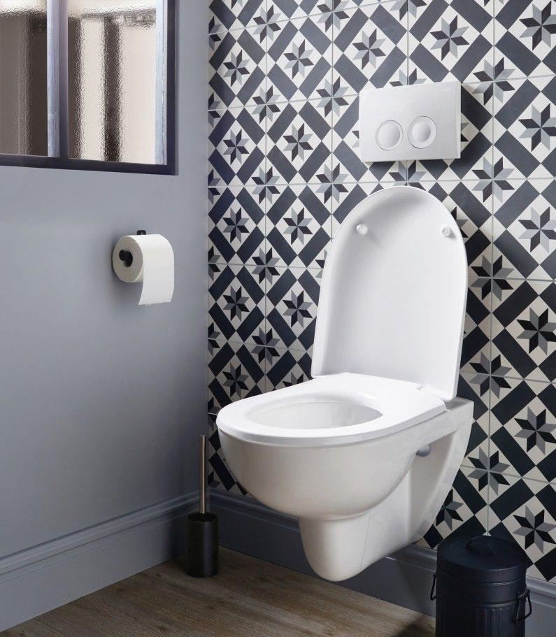 Equiper Ses Toilettes D'Un Wc Suspendu Blanc | Idée Déco à Toilettes Suspendus