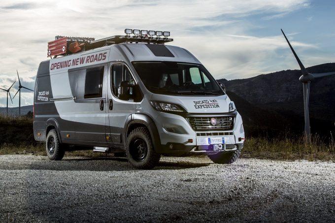 Fiat Ducato 4X4 Expedition, Taillé Pour L'aventure intérieur Rideau Isotherme Camping Car Fiat Ducato