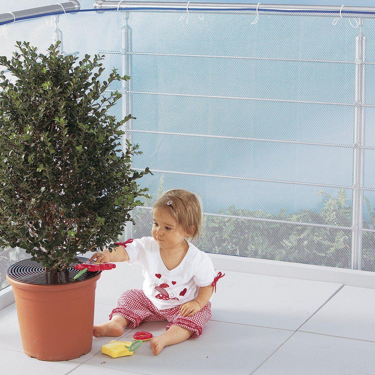 Filet Transparent Balcon avec Rideau Plastique Transparent Pour Terrasse
