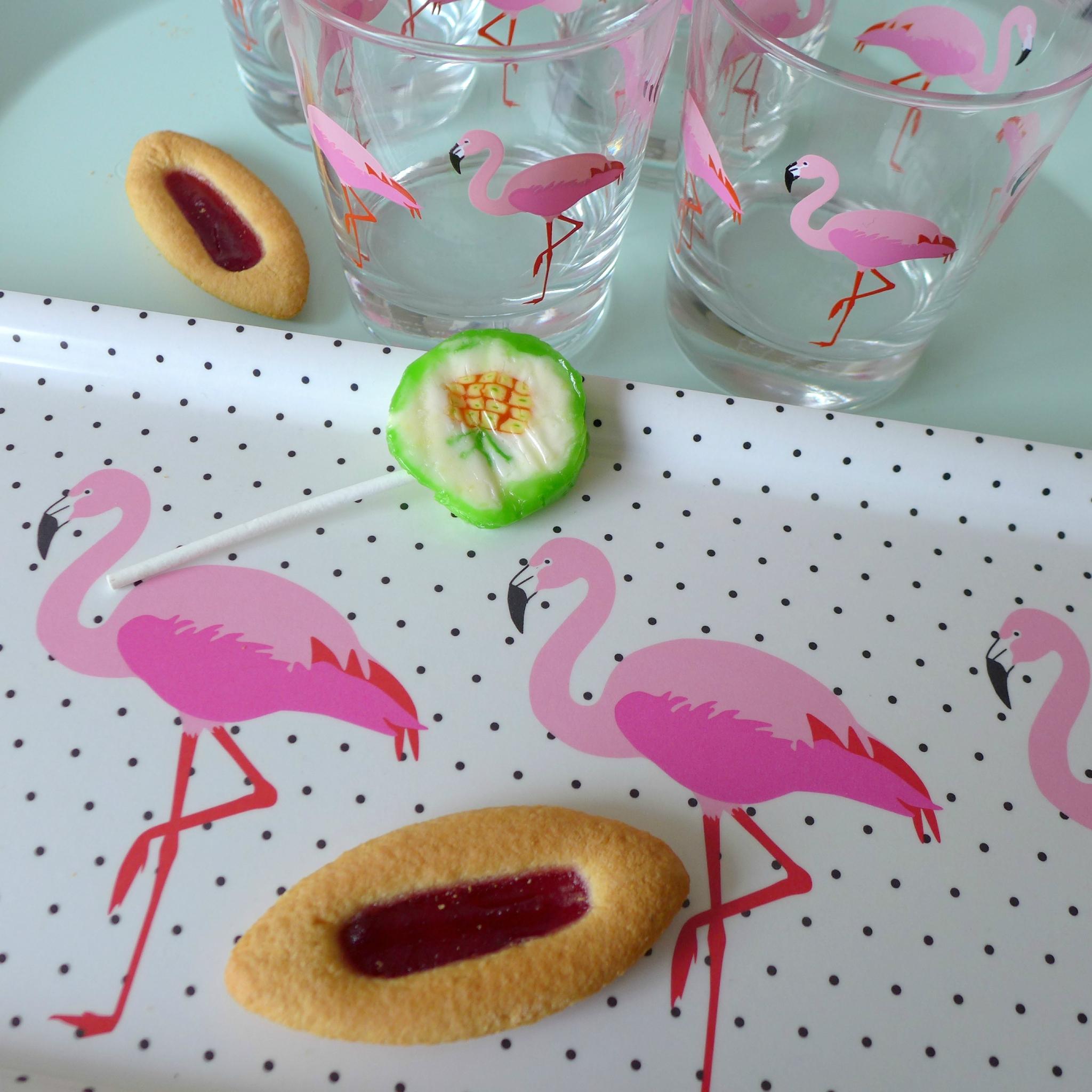Flamingo Mood - Une Touche De tout Rideau Flamant Rose