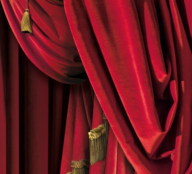French Trompe L'Oeil Wallpaper By Christophe Koziel dedans Rideau De Theatre