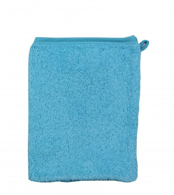 Gant De Toilette Enfant Bleu Turquoise serapportantà Gant Toilette Enfant