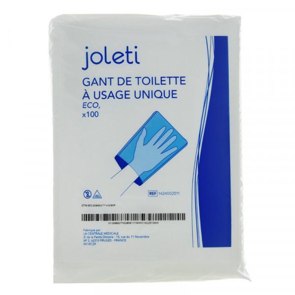 Gants De Toilette Molletonné À Usage Unique X100 - Hygiène tout Gants De Toilette À Usage Unique