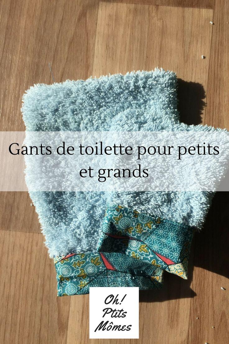 Gants De Toilette Pour Petits Et Grands | Couture Facile dedans Gant De Toilette Pour Enfant
