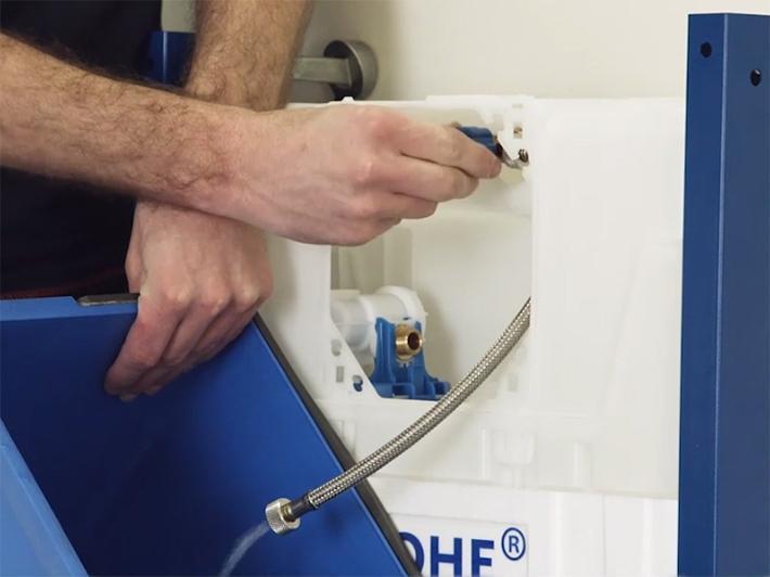 Guide D'Installation - Installer Un Système Sanitaire - Wc concernant Toilette Suspendu Grohe