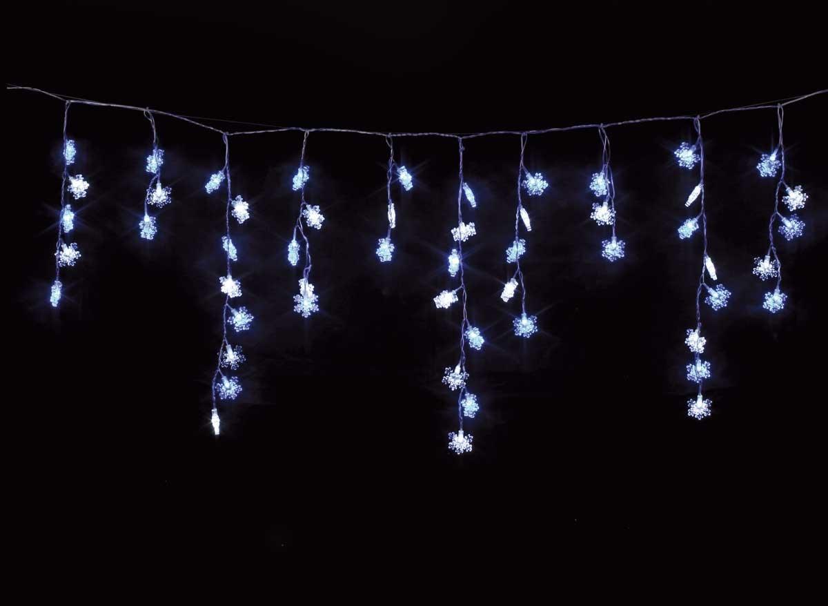 Guirlande Lumineuse Exterieur Led Rideau Étoiles 3 M encequiconcerne Rideau Exterieur Electrique
