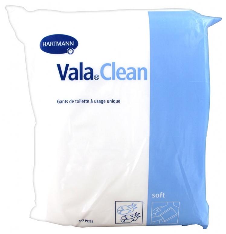 Hartmann Vala Clean Gants De Toilette À Usage Unique 50 Pièces destiné Gants De Toilette À Usage Unique