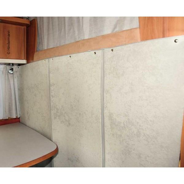 Hindermann Rideau De Séparation Thermique De Camping-Car intérieur Rideau Isolant Thermique Camping Car