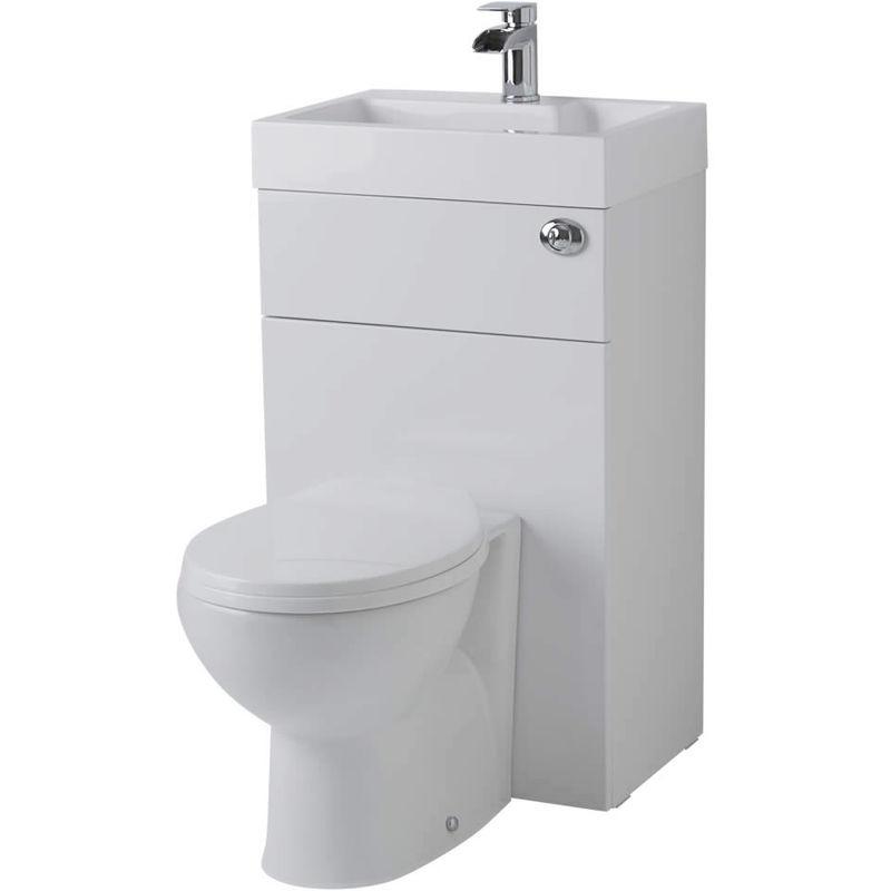 Hudson Reed - Toilette Wc Avec Lave Main Intégré - Design pour Toilette Avec Lavabo