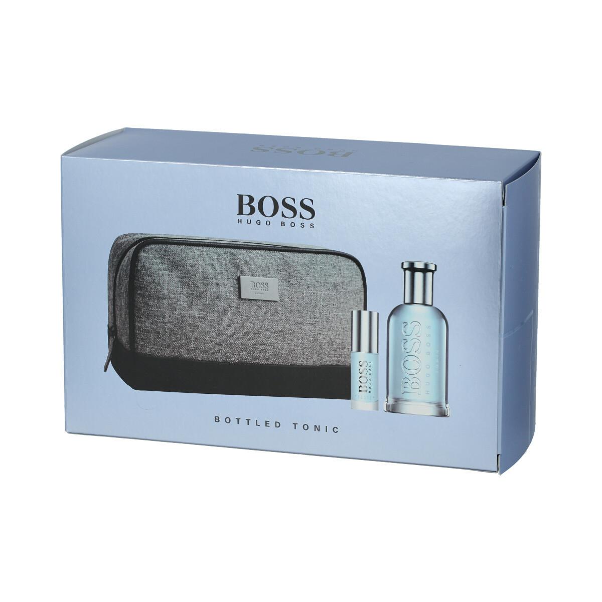 Hugo Boss Boss Bottled Tonic Edt 100 Ml + Edt Mini 8 Ml tout Trousse De Toilette Hugo Boss