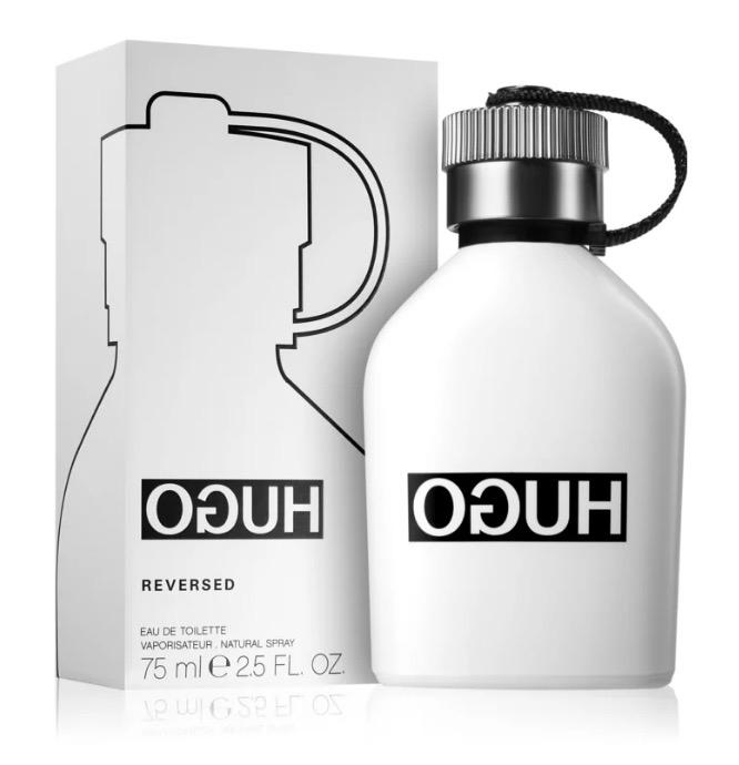 Hugo Boss Hugo Reversed Eau De Toilette 75 Spray avec Trousse De Toilette Hugo Boss