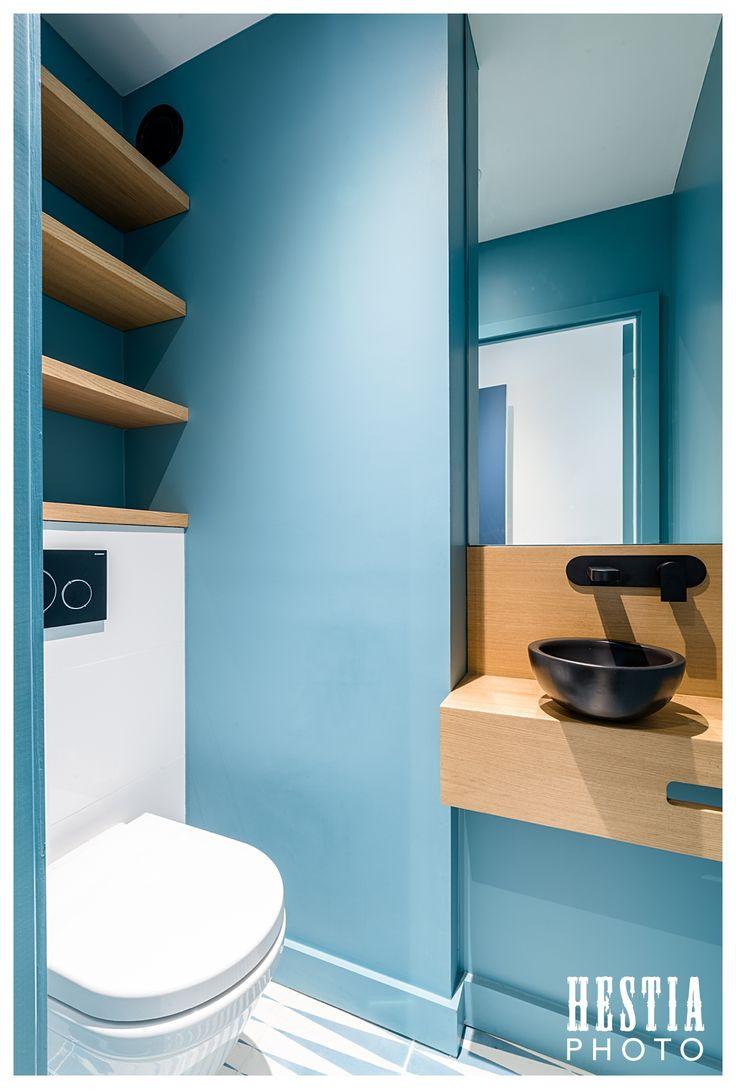 Idée Décoration Salle De Bain - Aménagement Toilettes : Wc concernant Placard Toilette