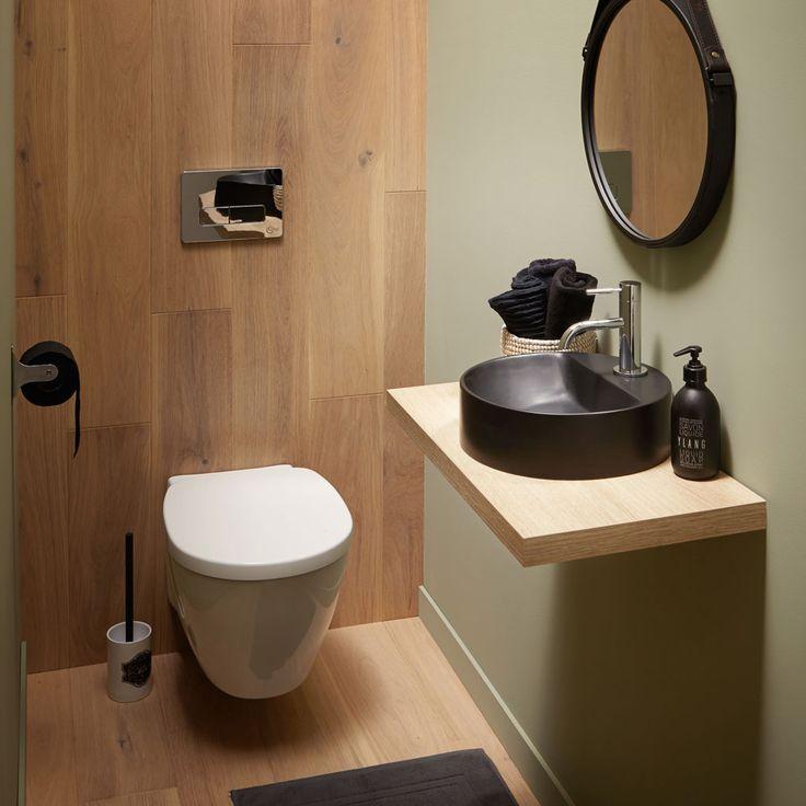 Idée Décoration Salle De Bain - Plan De Toilette Avec Le pour Toilette Seche Interieur Maison