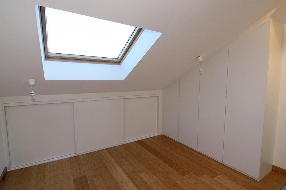Installation, Fabrication Et Pose De Placard D'Angle Sous avec Rideau Placard Sous Pente
