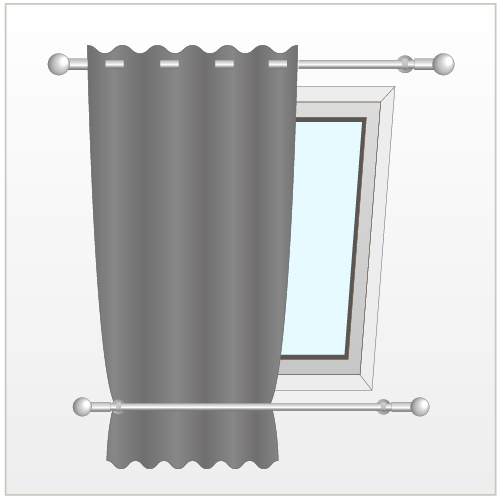 Installer Un Rideau Sur Une Fenêtre De Toit - Rideaux encequiconcerne Rideau De Velux