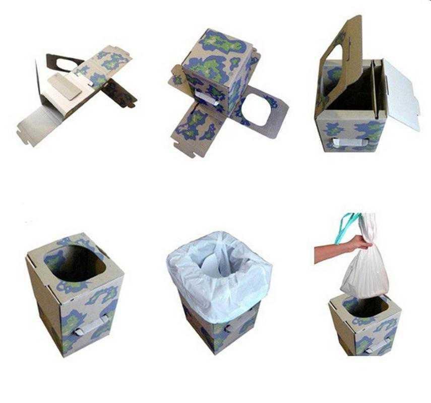 Kit Wc Pliable, Toilettes Sèches Portables, Toilette Sèche tout Toilette Seche Achat