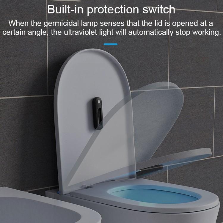 Lampe De Bâton De Désinfection Stérilisante À Lumière Uv avec Toilette Portative