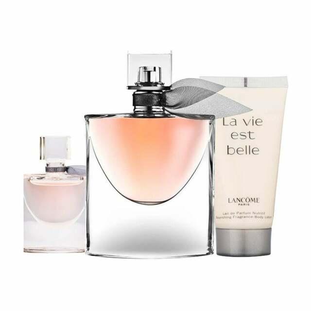 Lancome La Vie Est Belle Gift Set 50Ml Edp + 50Ml Shower encequiconcerne La Vie Est Belle Gel Douche