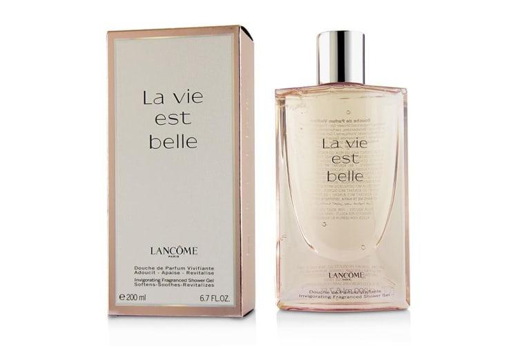 Lancome La Vie Est Belle Invigorating Fragrance Shower Gel concernant La Vie Est Belle Gel Douche