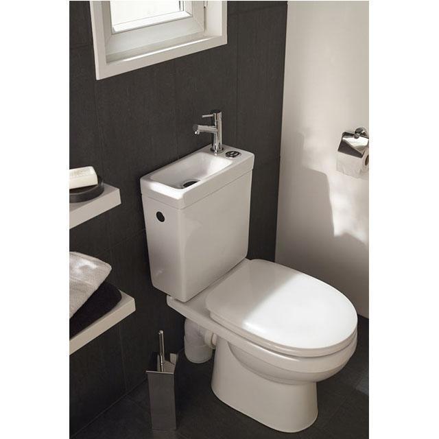 Lave Main Adaptable Sur Chasse D Eau – Gamboahinestrosa serapportantà Toilette Suspendu Avec Lave Main